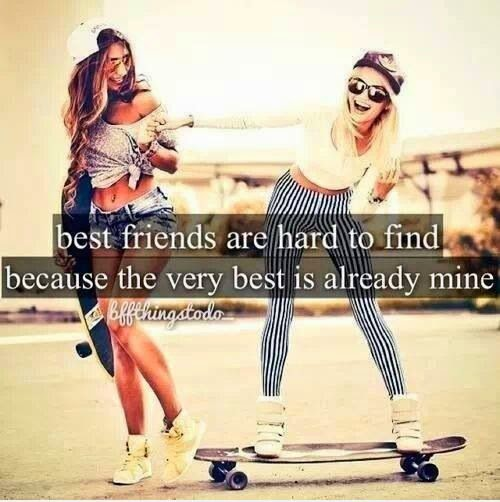 Best Friends Are Hard To Find