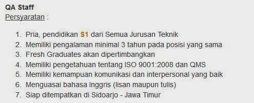 bursa-loker-sidoarjo-terbaru-maret-2014