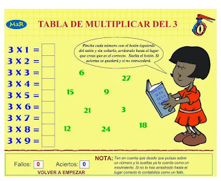 http://www3.gobiernodecanarias.org/medusa/eltanquematematico/Tablas/tres/practica3_p.html