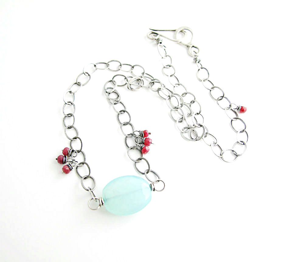 Geisha's Dream One of a Kind Necklace by Beth Hemmila of Hint Jewelry