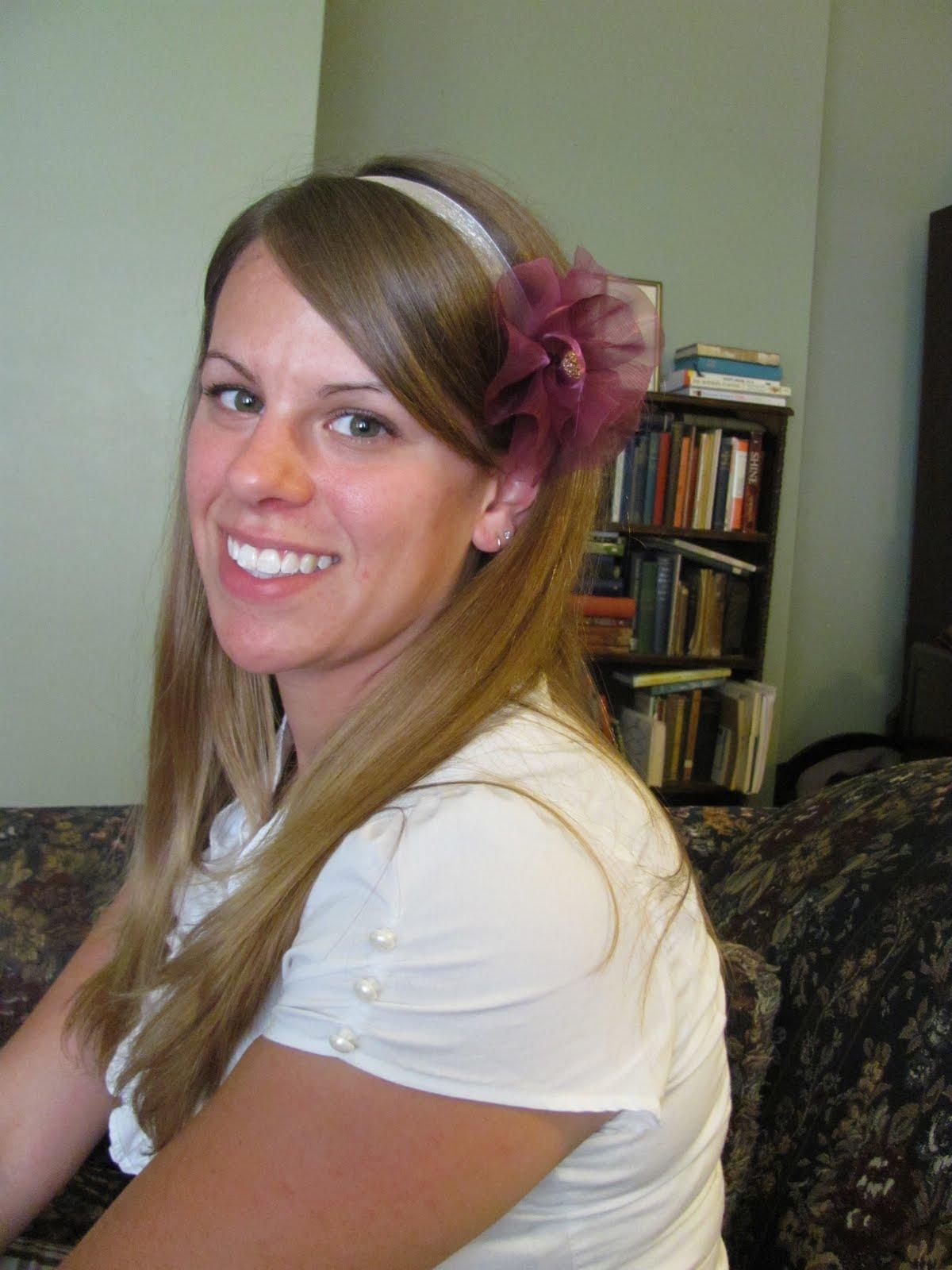 Making Flower Headbands Flower Headband For Your