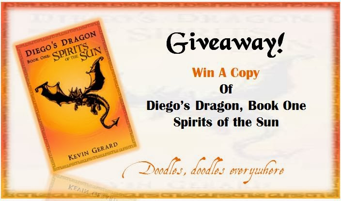 Win a copy of Diego's Dragon, Book One: Spirits of the Sun!