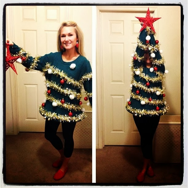 when you put your arms up you can awesomely camouflage yourself as a christmas tree what more could you ask for in life - Christmas Dress Up