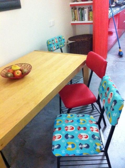 Bastidores de silla de hierro la tapicera - Telas tapiceria sillas ...
