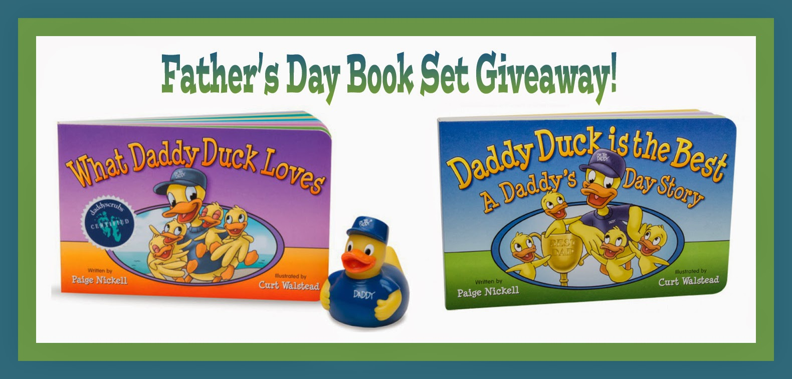 Daddy & Company Father's Day Book Set Giveaway
