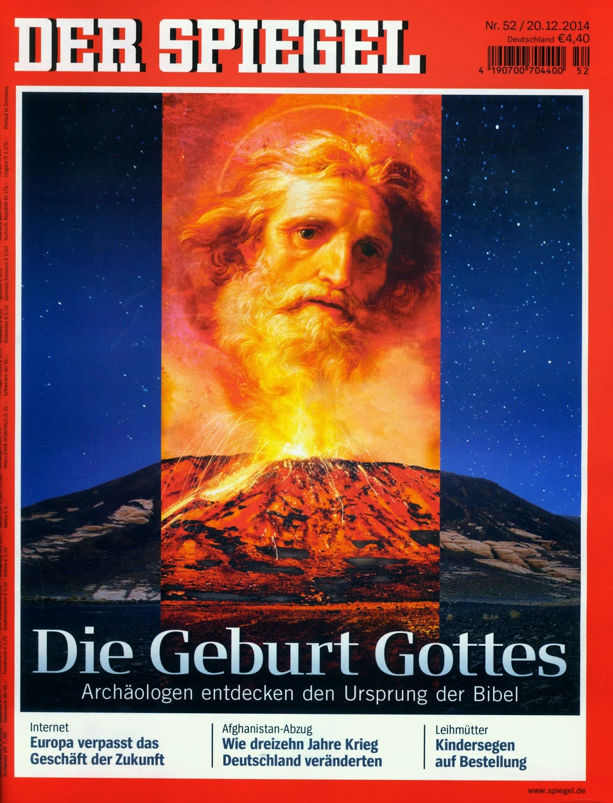 Red baron 39 s blog the birth of god for Spiegel jesus