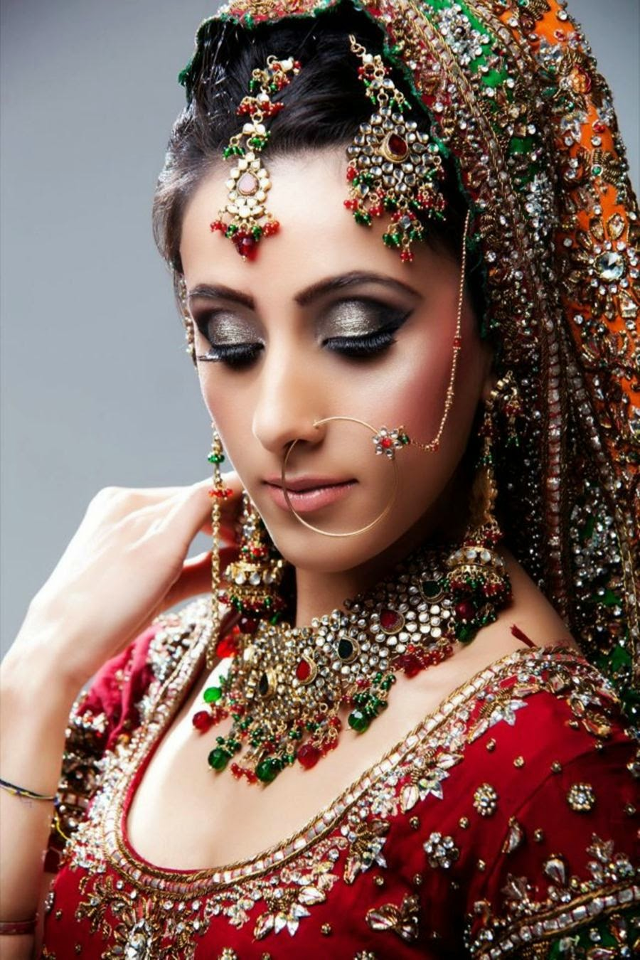 New Latest Bride Make 2014-15 Wallpapers Free Download
