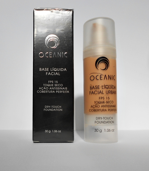 Base líquida facial Urban Oceanic Cosméticos