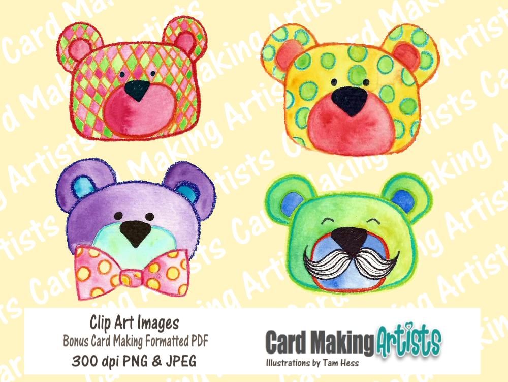 Sweet Bear Faces!