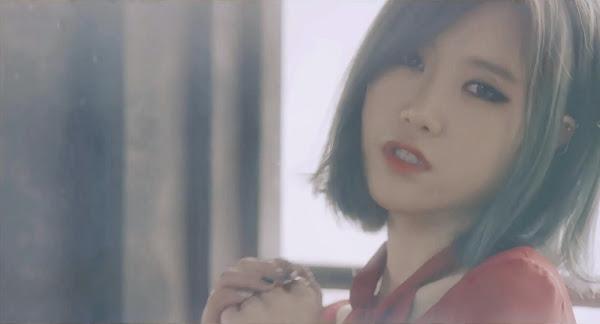 Fiestar's  Yezi (예지) in You're Pitiful MV