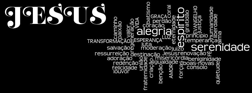 Fabuloso 02 capas para Facebook com nomes evangélicos referentes a Jesus  MQ55