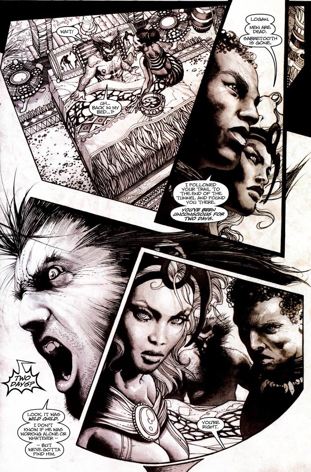 Read online Wolverine (2003) comic -  Issue #53 - 4