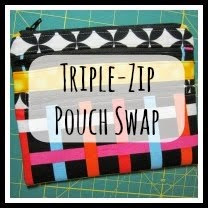 Triple-Zip Pouch Swap