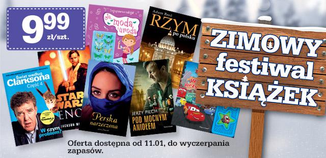 Zimowy festiwal książek w Biedronce - już od jutra!