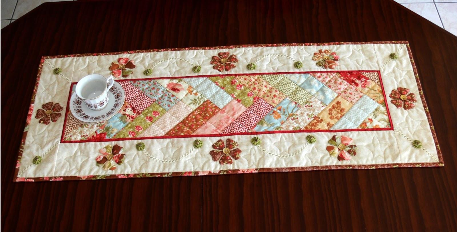 Салфетка из ткани на стол своими руками 164