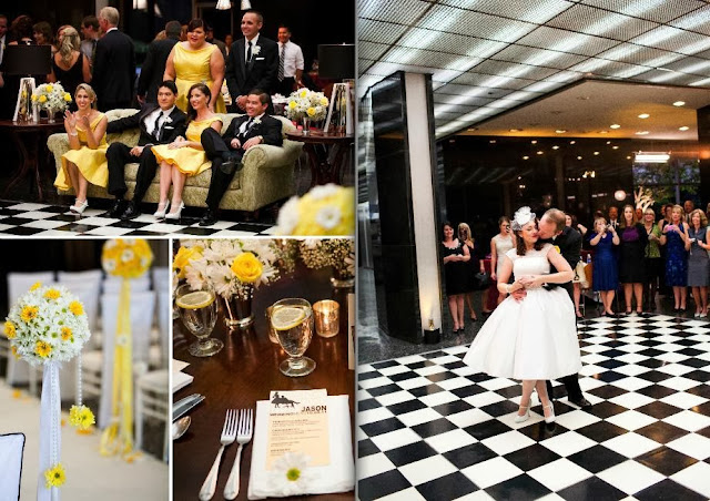 bodas originales boda mad men david tutera