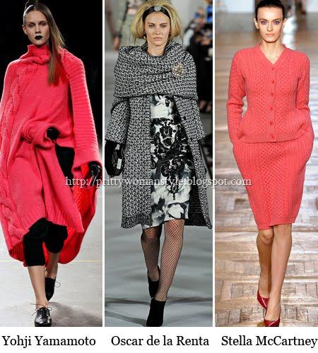 плетени дрехи зима 2013