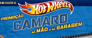 Promoção Hot Wheels - Camaro na Mão e na Garagem