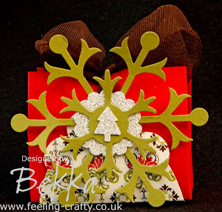 Adorable Christmas Table Setting Set by Stampin' Up! Demonstrator Bekka - www.feeling-crafty.co.uk