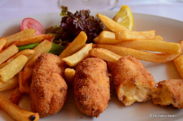 Belgique - Coxyde - croquettes de crevettes