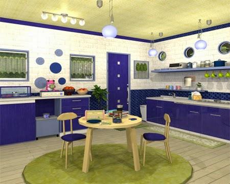 Fruit Kitchen No. 17: Prune Violet