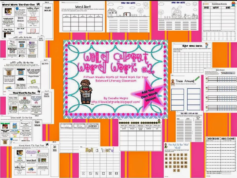 http://www.teacherspayteachers.com/Product/Wild-About-Word-Work-2-Add-Your-Own-Words-Version-272029