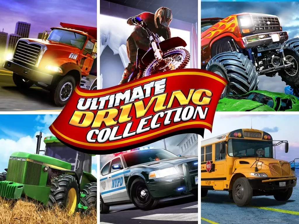 Ultimate Driving Collection 3D v1.00 [Mod Money]
