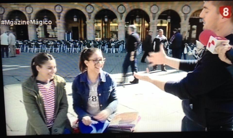 #MagazineMágico en La 8 Salamanca, con el mago Toni Rivero
