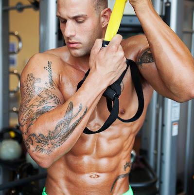 Best Fitness Model Ripped Six Pack Travis Tardiff