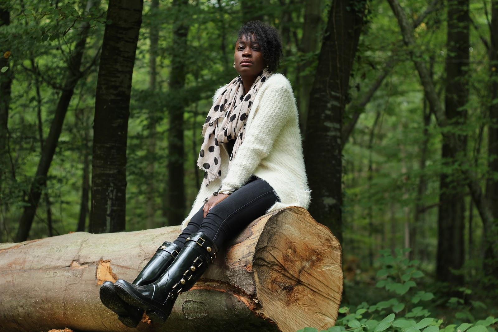 tenue chic- promenons nous dans les bois-chic outfit-blog mode