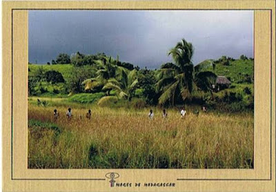 Carte postale ancienne Sainte-Marie Madagascar