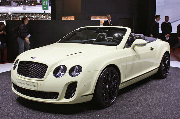 High Quality After Removing Continental Coupé Super Sports Last Year, Bentley Returned  To Continue Walking With The Launch Model Super Sports Continental  Convertible.