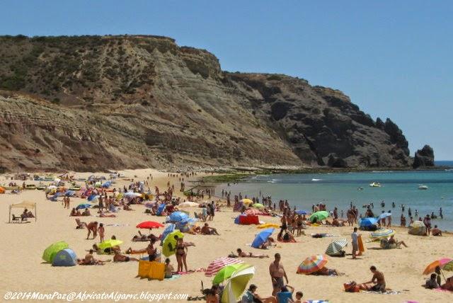 Praia da Luz beach, Algarve