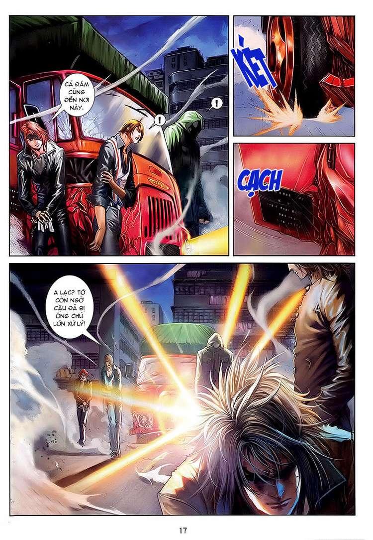 Cửu Long Thành Trại chap 32 - Trang 16