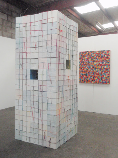 kate mackay, white cube, factory 49, non-objective, geometric abstraction, construction