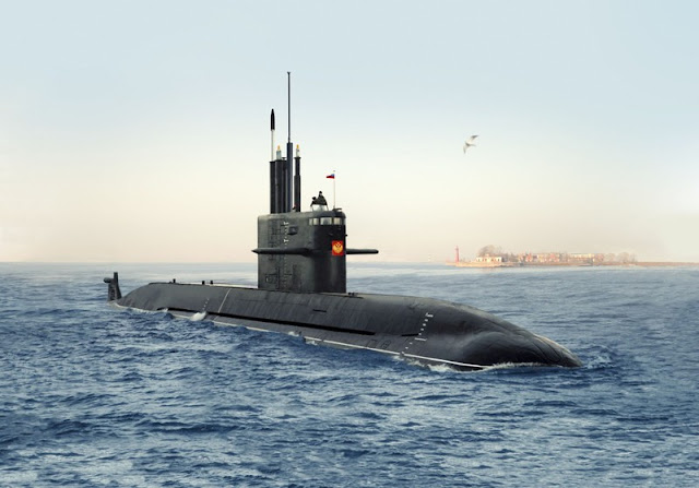 Lampu Hijau Pembelian 10 Kapal Selam Rusia