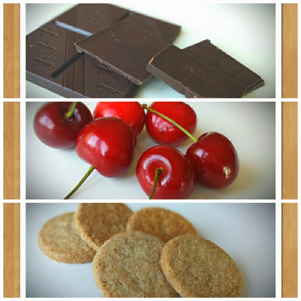 Schokolade Kischen Haferkekse