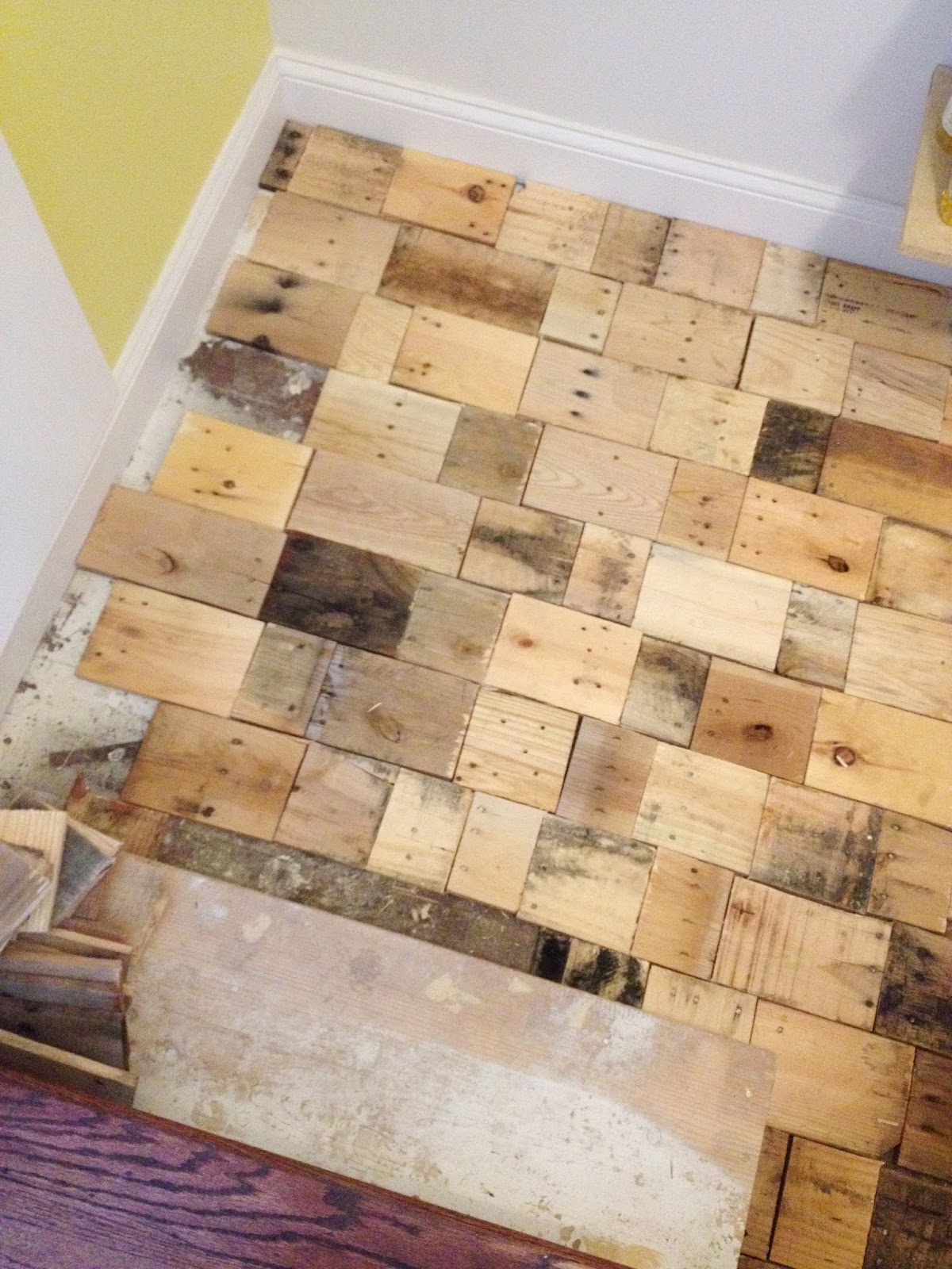 Flipping the Flip: Slow down Saturday but gearing up for floor completion.