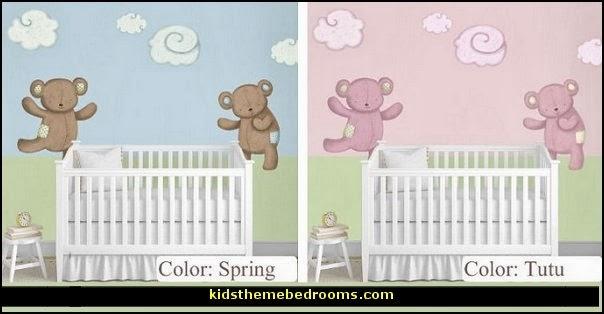 Teddy Bears Decals U0026 Clouds Wall ...