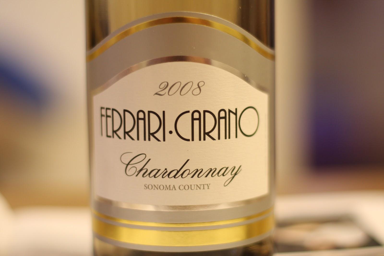 Monika S Wine Blog Ferrari Carano Chardonnay