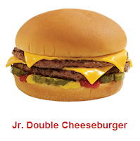 Sonic Jr Double Cheeseburger