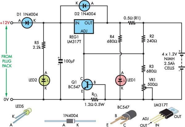 Diy Arduino Digital Speedo in addition Convert A  puter Power Supply To A Bench Top Lab additionally VarReg1 likewise Labeled Diagram Of A Circuit Schematic in addition General Purpose Power Supply With Lm723. on bench power supply circuit diagram