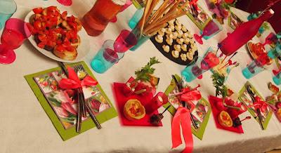 Valy cake and finger food idee per una cena tra amici for Idee per una cena di compleanno