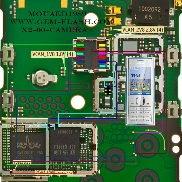 circuit diagram of nokia c2 00 nokia x2-00 camera solution circuit diagram of nokia x2 00 #2