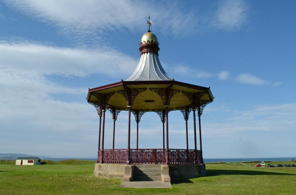 bandstand nairn vintage