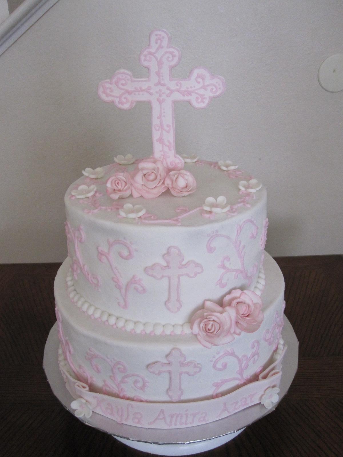 Cake Ideas For Baby Baptism : Baby Shower Cakes: Baptism Cake