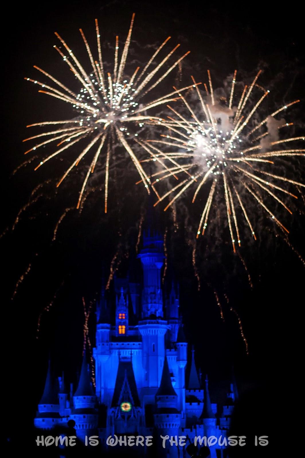 Wishes above Cinderella Castle, Magic Kingdom