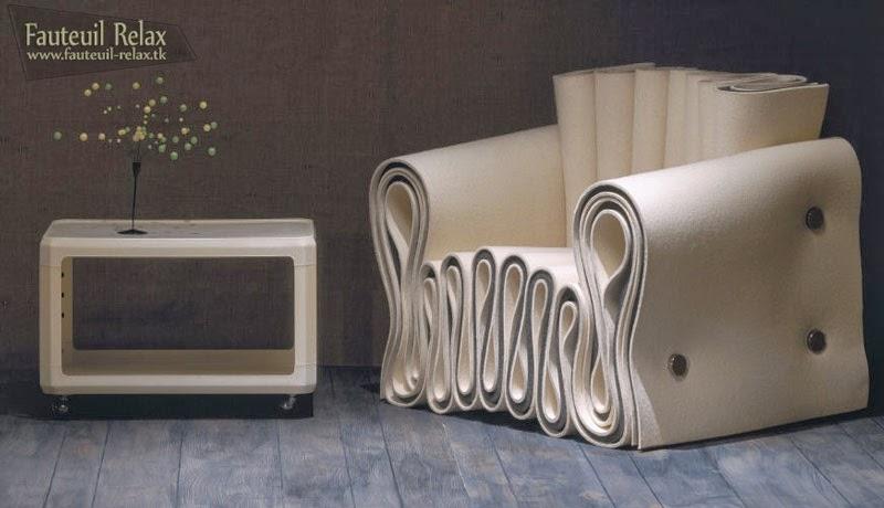 Fauteuil design en cuir fauteuil relax for Formation decorateur interieur avec fauteuil design italien cuir