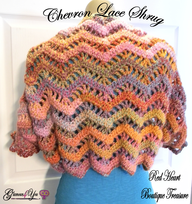 Chevron Lace Shawl Crochet Pattern : Fiber Flux: Awesome Chevrons! 15 Free Crochet Patterns...