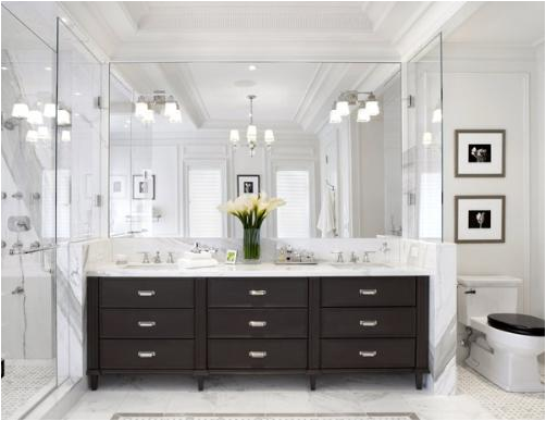 Modern bathroom design ideas room design ideas for White bathroom ideas photo gallery